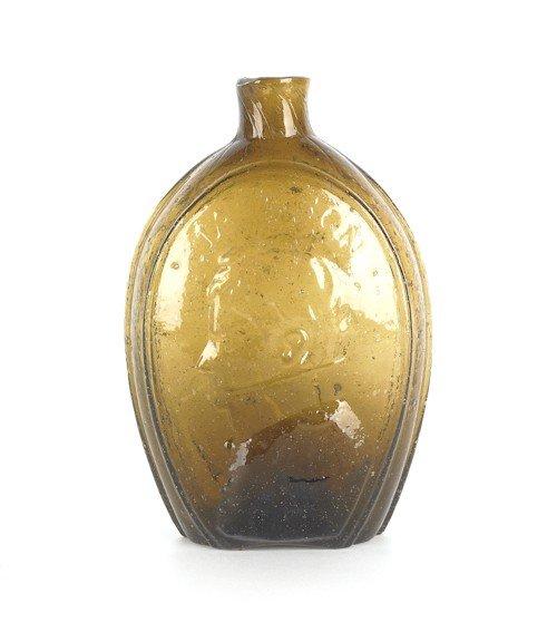 318: Keene, New Hampshire olive amber Washington Jack