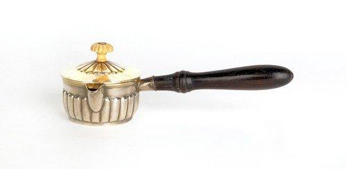 360: Russian silver hot cream pitcher, St. Petersburg