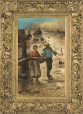 Louis Garnter (late 19th/early 20th C.), Oil On
