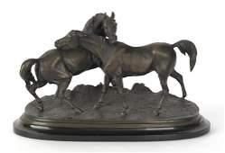615 Pierre Jules Mene French 18101879 bronze o