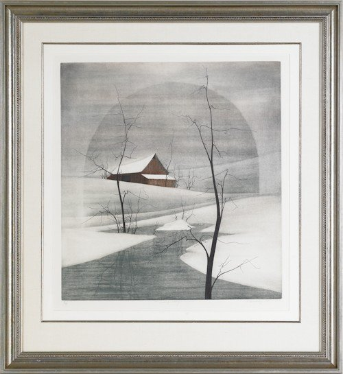 30: Three P. Buckley Moss (American, b. 1933) pencil