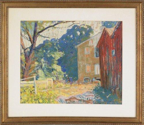 35: Walter Van Den Hengel (American, 1877-1941), past