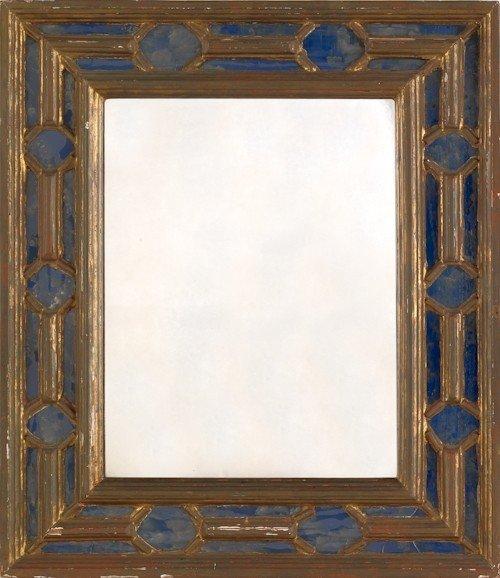 45: Italian giltwood mirror, early 20th c., 24 3/4'' x