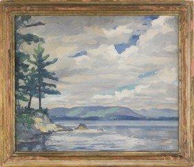 Gene Klebe (American, B. 1907), Oil On Canvas Coa