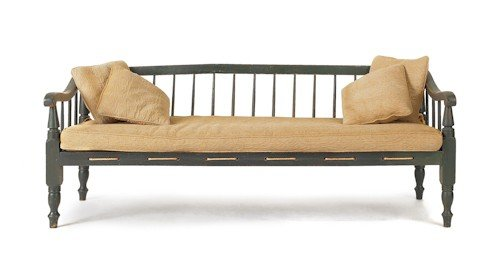 269: Sheraton painted daybed, ca. 1825, 27 1/2'' h., 71