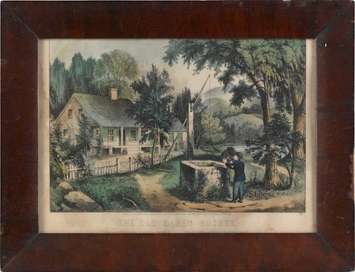 623: Six Currier & Ives lithographs, 19th c., to inclu