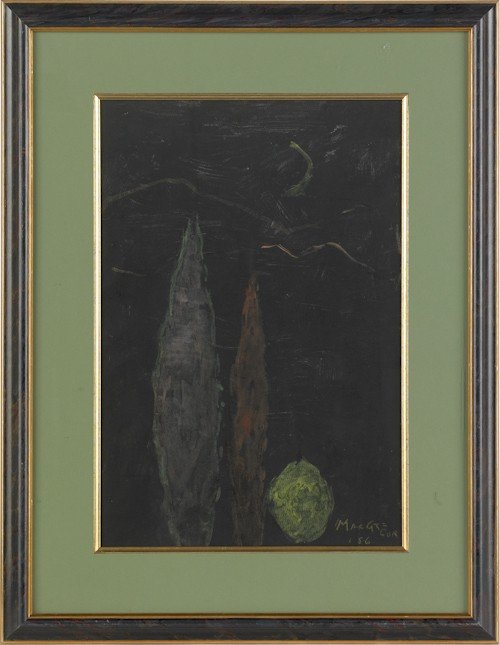 822: John MacGregor (British, b. 1944), three watercol