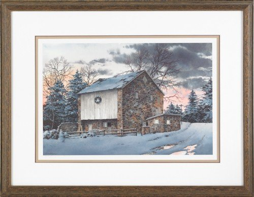 829: Richard Bollinger, limited edition lithograph of