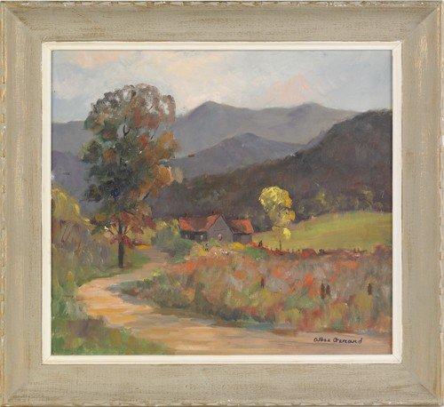 868: Altee Gerard (1895-1993), oil on canvas landscape