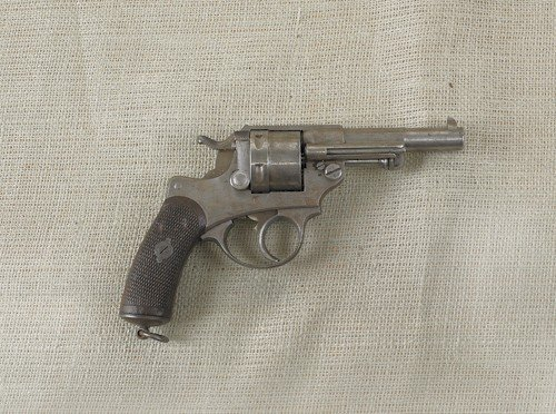 1087: French Model 1873 military revolver, 11 mm, with