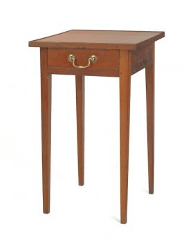 Pennsylvania Federal Cherry Side Table, Ca. 1790