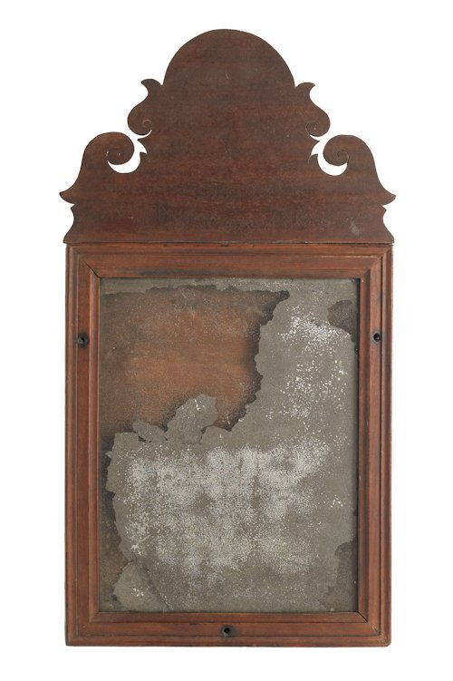 57: American Queen Anne mahogany mirror, ca. 1770,
