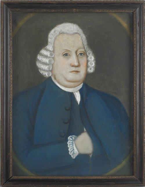 63: Benjamin Blyth (American, 1746-1786), pair of p