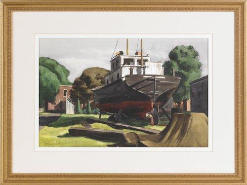 499: Giovanni Martino (American, 1908-1998), waterco