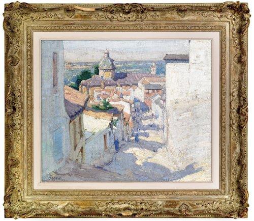 503: Ernest David Roth (American 1879-1964), oil on