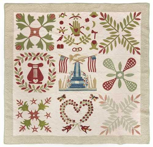 620 baltimore album quilt ca 1850 having a centr for Dynasty motors baltimore md