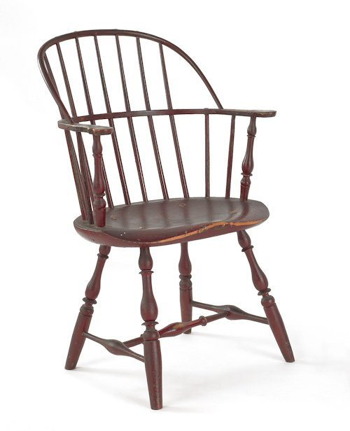 28: Philadelphia painted Windsor armchair, ca. 1775