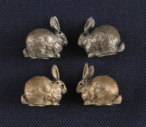 49: Cased set of Victorian silver gilt miniature sal