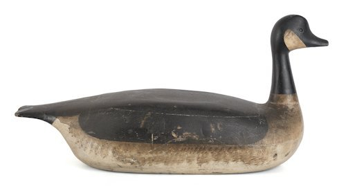 136: Seabrook, New Hampshire Canada goose decoy by Ge