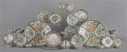 211: Collection of Chinese export famille rose porcela