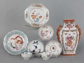 Chinese Export Porcelain, 18th/19th C., To Includ