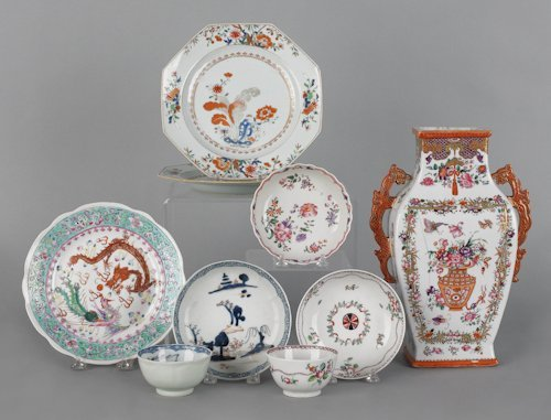 693: Chinese export porcelain, 18th/19th c., to includ