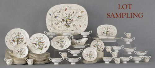 710: Coalport Cairo pattern dinner service, to include