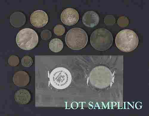 Large collection early U.S. coin currency, to inc