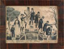 348 N Currier lithograph titled The Life and Age of