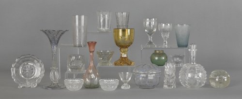 1061: Miscellaneous glass, to include stemware, goblets