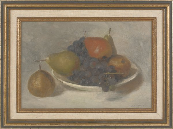 2: M. A. Bostwick (American 19th c.), oil on canvas