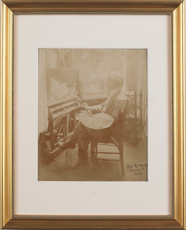 6: Two Ben Austrian signed photographs, early 20th c
