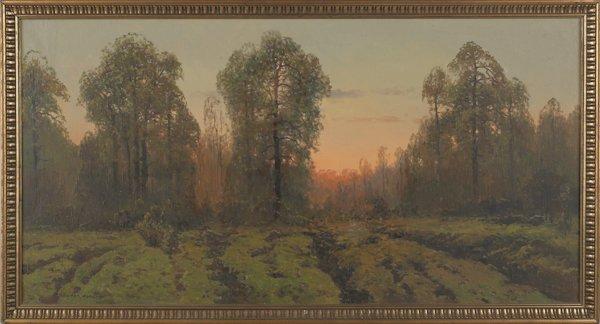 9: Victor Korecki (Poland 1890-1980), oil on canvas