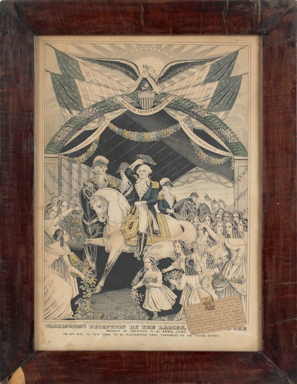 15: Kellog and Thayer lithograph Washington Crossing