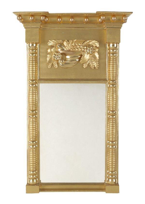 16: Federal giltwood mirror, ca. 1815, 31'' x 16''.