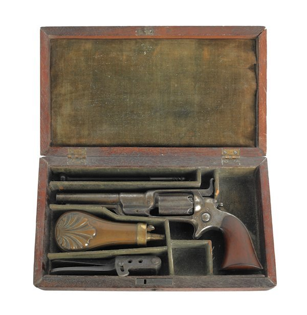 1170: Colt Root 1855 pocket percussion revolver model 5