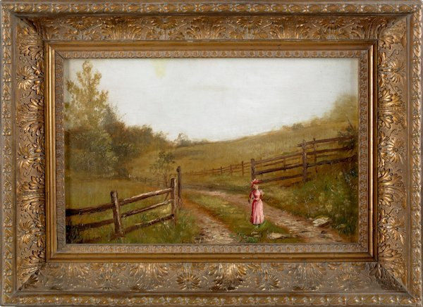 6: Frederick A. Spang (American 1834-1891), oil on