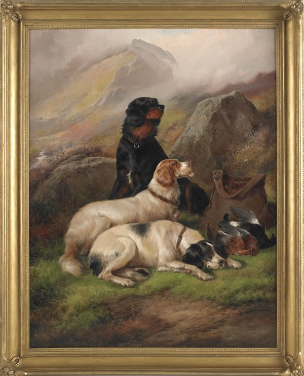 255: John Gifford (British, late 19th c.), oil on ca