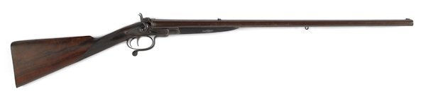 342: Cased J. Purdey side by side under lever double-