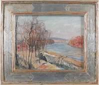 109: Walter Emerson Baum (American 1884-1956), oil o