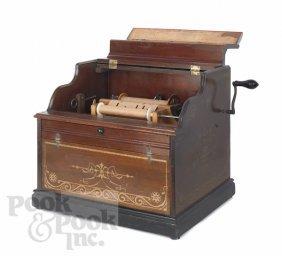3: Celestina organ grinder music box with thirteen p