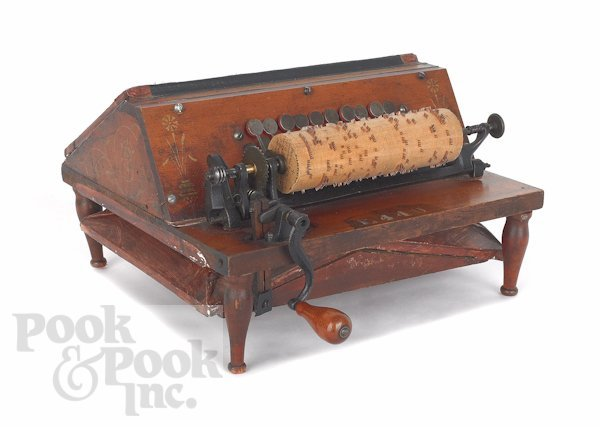 6: The Gem roller organ by The Autophone Co., with f