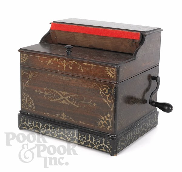 10: Melodia organ grinder music box by the Mechanical