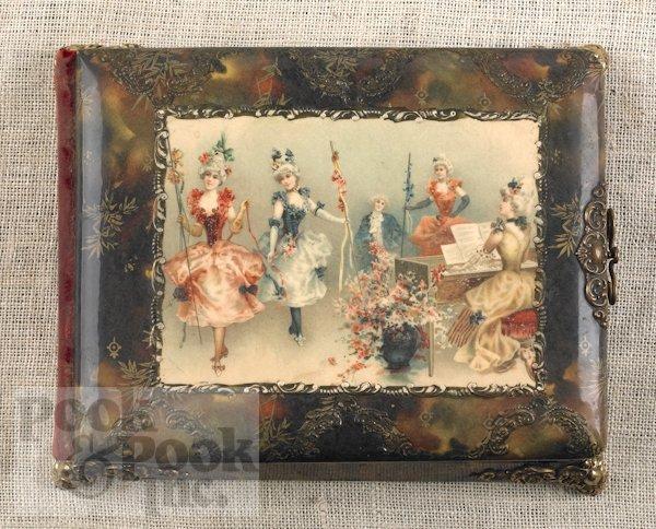 22: Paillard, New York Victorian musical photo album,