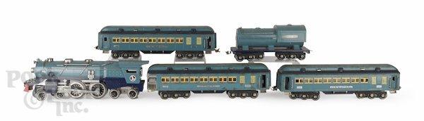 548: Lionel 400E train set with four cars.