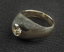 Diamond ring tested 14K white gold the gypsy se