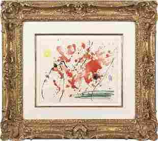 Joan Miro (French/Spanish 1893-1983), watercolo