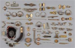 Large group of miscellaneous gold and goldfilled