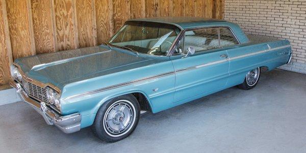 1964 Chevrolet Impala SS, approximately 45,600 mi