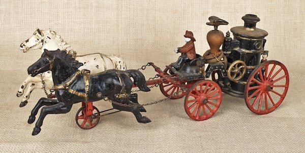 Ives Phoenix mechanical cast iron horse drawn fir